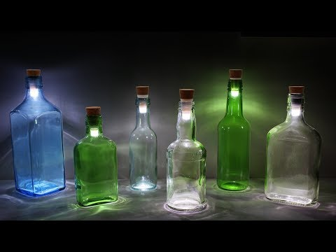 How to make LED Water Lamp at Home Easy | Awesome Lamp | Tutorial