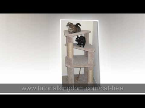 [Watch] Cat Condo DIY Plans - Build Your Own Cat Tree!