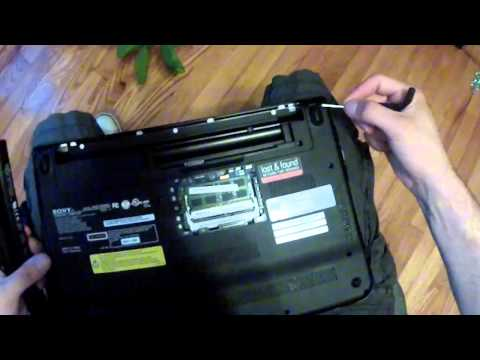 how to remove keyboard Sony Vaio VPCEG27FM PCG-61A12L VPCEH white black  GoPro 2 HD