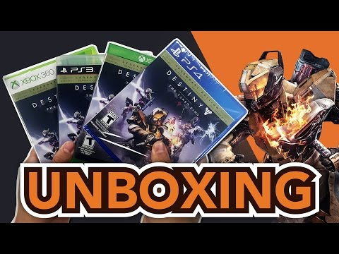 Destiny The Taken King Legendary Edition (PS4/Xbox One/PS3/Xbox 360) Unboxing !!
