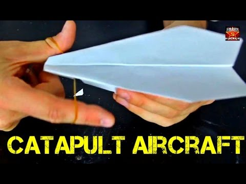 Catapult Paper Airplane