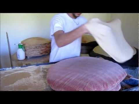 Lebanese bread (markouk)