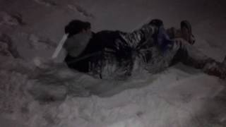 KID GETS SO MAD!!! FIGHTS FRIENDS IN A BLIZZARD!!!!! MUST WATCH!!!!