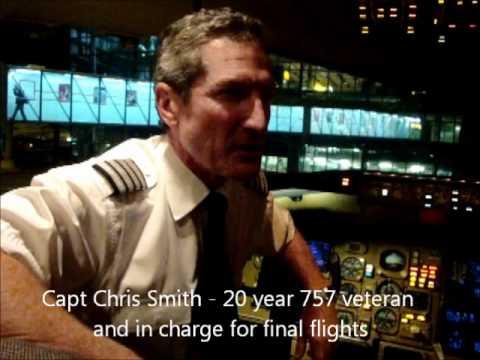 On board British Airways' last Boeing 757 flights (G-CPET)