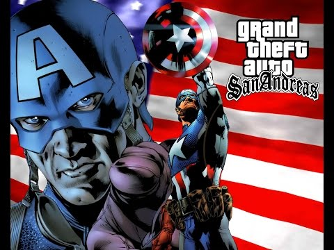 HOW TO INSTALL GTA SA CAPTAIN AMERICA MOD