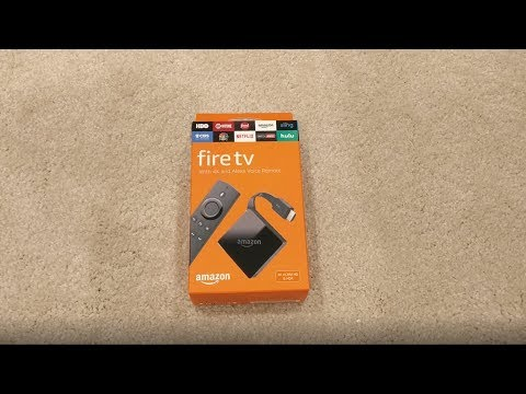New Amazon Fire TV 4K Unboxing