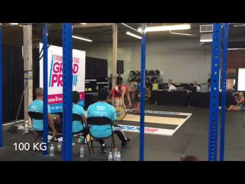 Lacey - 646 Grand Prix - 191kg total @ 60.3 bw