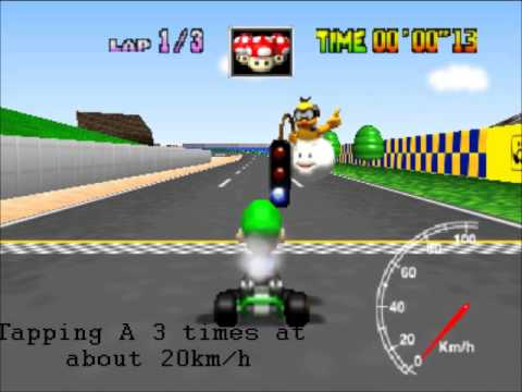 Guide: How to play Mario Kart 64 Competitively.