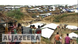 Fleeing Rohingya refugees hit by heavy flooding
