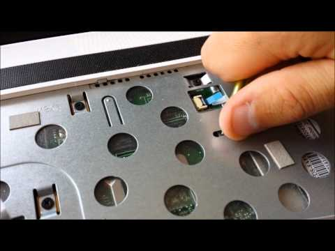 How to replace the optical drive CD / DVD in laptop Asus K53S rewriter?