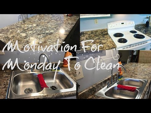 Speed Cleaning MONDAY MOTIVATION CLEAN WITH ME