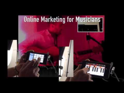 How 2 Music Video Online Marketing with the iphone 6, GarageBand & iMovie