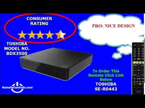 Review Toshiba Blu-Ray Full HD Player - BDX3500