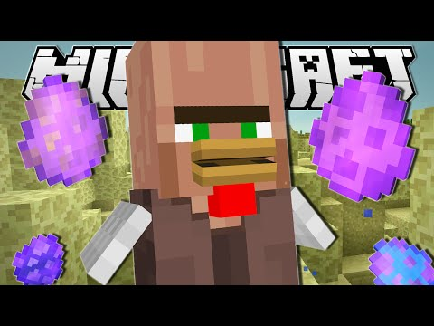 Minecraft   CHICKEN VILLAGER'S MAGIC EGGS!!   Custom Command