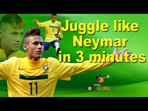 Tips for Soccer: Juggle like Neymar in 3 minutes