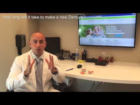 How long will it take to make a new denture? | Daniel Daniel Dentistry | 902.404.3368