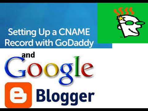 how to setup custom , link, redirect,add custom,domain on blogger with godaddy