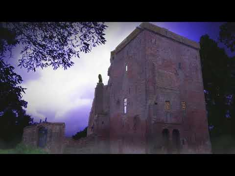 Haunted Old Ruin with Thunder and Scary Halloween Sounds