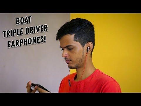 Boat Nirvanaa Triple Drivers Earphones Review!