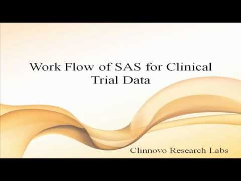 Work Flow of SAS for Clinical Data