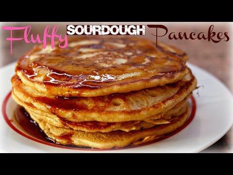 Fluffy Sourdough Pancake Recipe (Use Up Your Leftover Starter!)
