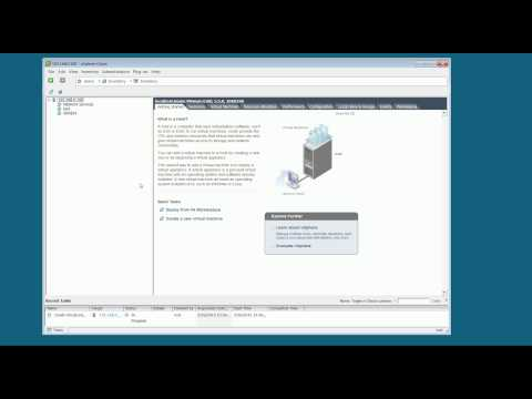 Creating Virtual Machines with vSphere