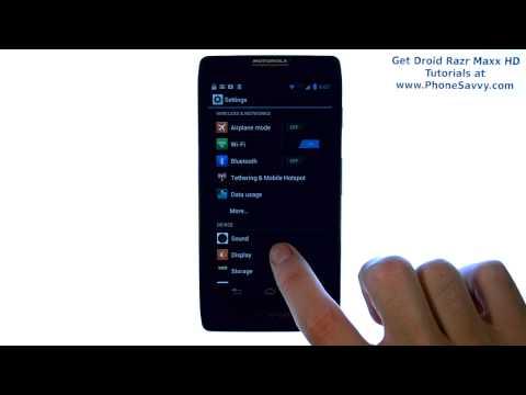 Motorola Droid Razr Maxx HD - How Do I Enable Lock Screen Sound