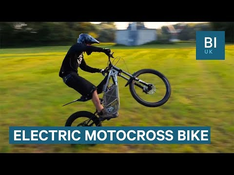 Motocross Bike Is Powerful And Completely Electric