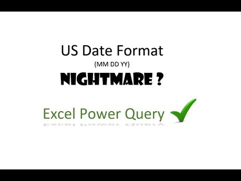 US Date Format Nightmare - Power Query to the rescue