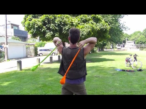 The easy way to learn and teach poi shoulder reels
