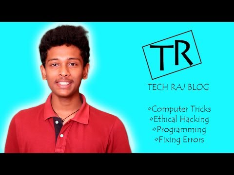 Tech Raj Blog - Best Tutorials on Computer Tricks, Ethical Hacking, Programming