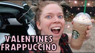 Trying STARBUCKS Valentine