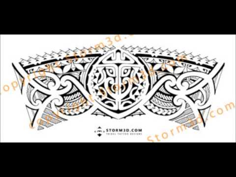 Tribal armband/legband tattoo design: how to make a seamless fit for a tattoodesign