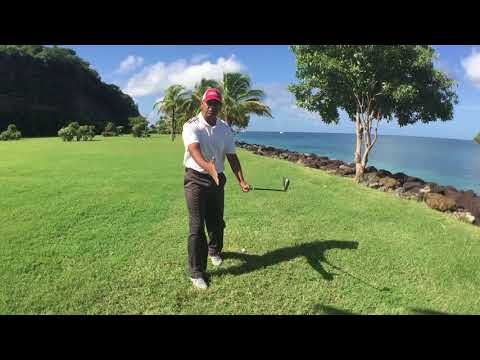 How to hit golf ball from the inside