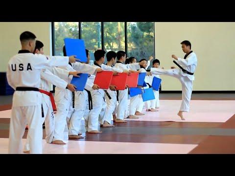 Amazing Taekwondo Training