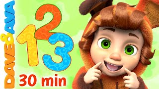 👉 One Little Finger Part 2 & More Baby Songs | Dave and Ava 👈