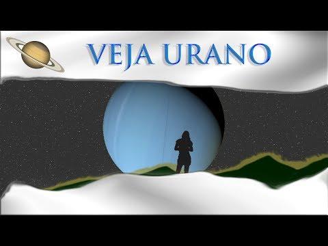 Como ver Urano pelo telescópio - 2017