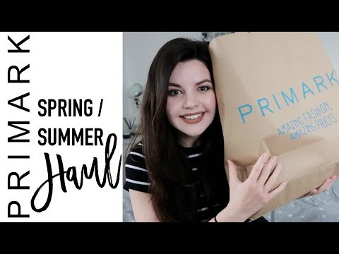 APRIL 2018 PRIMARK HAUL | Spring/Summer Clothing Haul