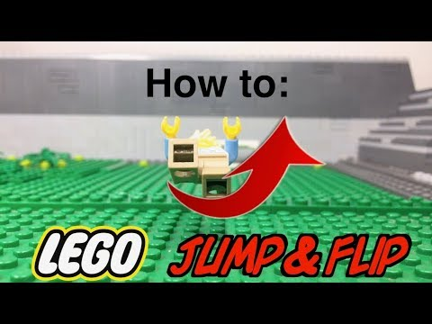 Lego Stop Motion Jump & Flip | How to