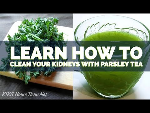 🔴 PARSLEY TEA TO CLEAN THE KIDNEYS - THE BENEFITS OF PARSLEY