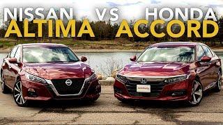 2019 Nissan Altima vs Honda Accord Comparison