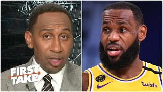 Stephen A. reacts to Lakers vs. Clippers: