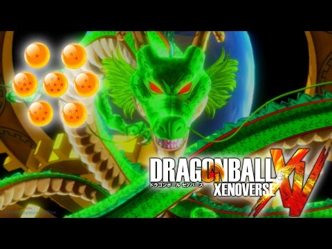 Dragon Ball Xenoverse - How to Get the Dragon Balls and Summon Shenron (FAST / EASY)