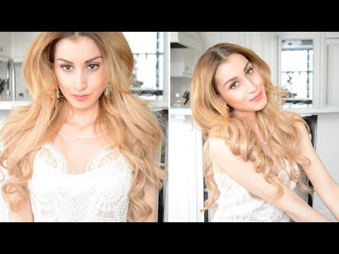 BIG Sexy Voluminous Curls | Fancy Hair Tutorial