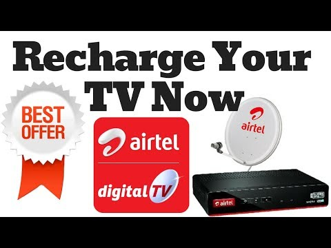 Airtel Digital TV /DTH Best Offer For Recharge How to Check Best offers in Airtel Digital TV