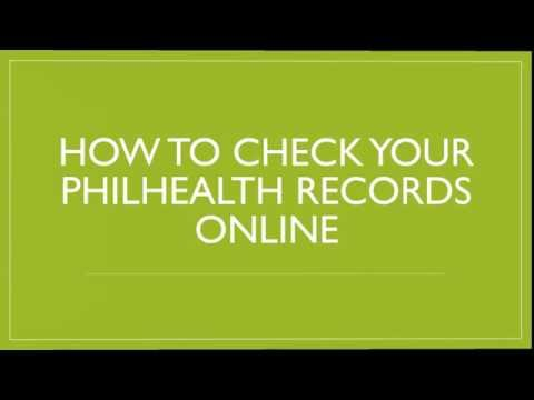 Check your PhilHealth Online and Print your MDR