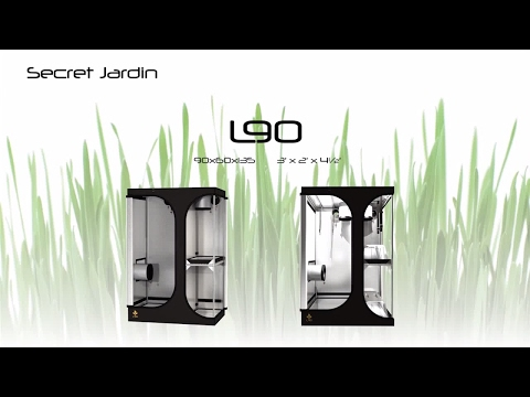 How to set up Secret Jardin grow tent L90 | Product Tutorial