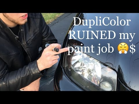 DupliColor Perfect Match Touch Up Paint