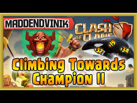 Clash of Clans - Climbing Towards Champion II (Gameplay Commentary)