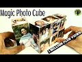 Magic Photo Cube Album for Mother's Day - DIY Tutorial by Paper Folds ❤️